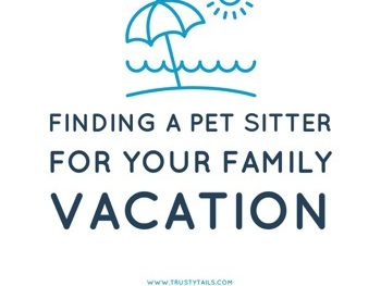 Finding a Pet Sitter for Your Family Vacation